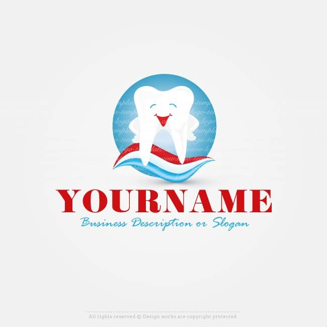 Create a Logo Template – Dental logo