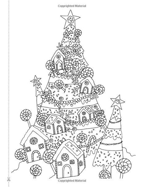 christmas coloring festive coloring textbooks to set the vacation temper creative christmas tree coloring book a selection of vintage contemporary - Christmas Holiday Coloring Pages