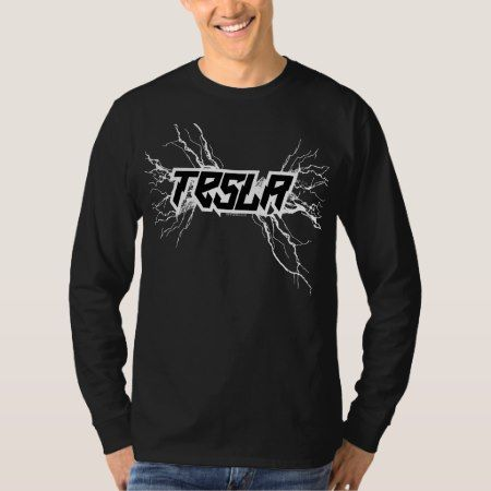 Tesla T-Shirt - click/tap to personalize and buy