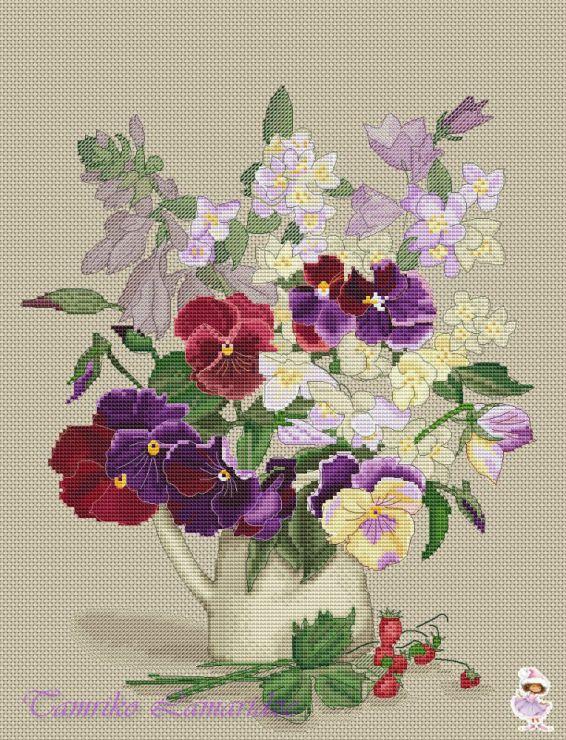 Gallery.ru / ...весенний - Схемы для Леры - tamriko-lamara