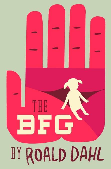 The BFG book cover design
