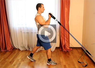 Упражнения с эспандером для мышц рук