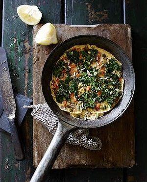 Kale tortilla.Looks very tasty!