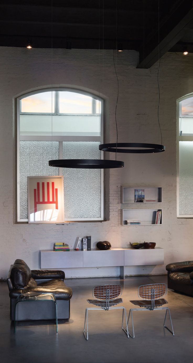 SUPER-OH! LED 120, Interior Ceiling Suspended lamp by Delta Light