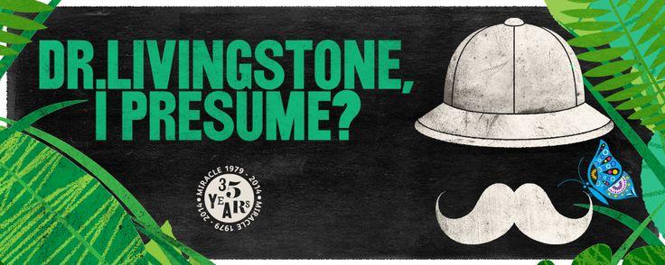 Tour poster for Dr Livingstone, I Presume?