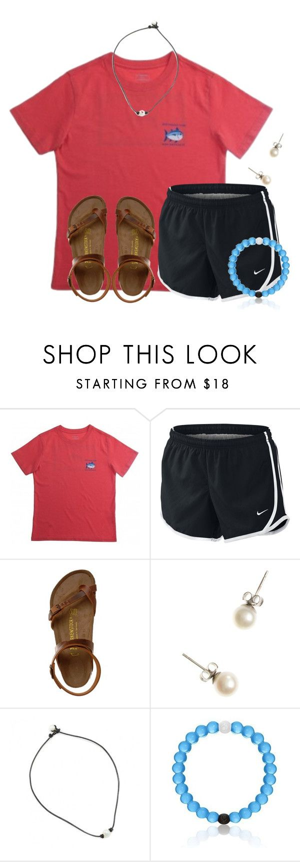 """~t h u r s d a y~"" by flroasburn on Polyvore featuring NIKE, Birkenstock and J.Crew"
