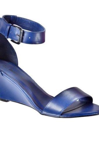 Sandály s páskem kolem kotníku #ModinoCZ #sandals #shoes #fashion #purple #style #moda #boty #sandaly #fialova