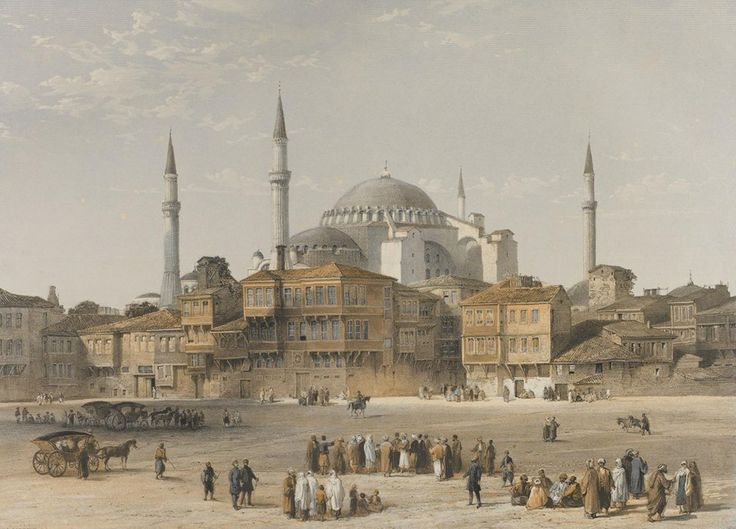 Sultanahmet-Hagia Sophia-Ayasofya
