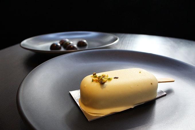 Gateaux: Cherry, Lemon Curd, Pistachio & White Chocolate