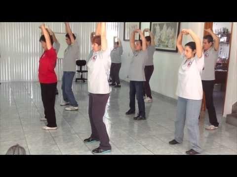 Ejercicio 1 de ChiKung: La armonía con las 6 direcciones cardinales - YouTube