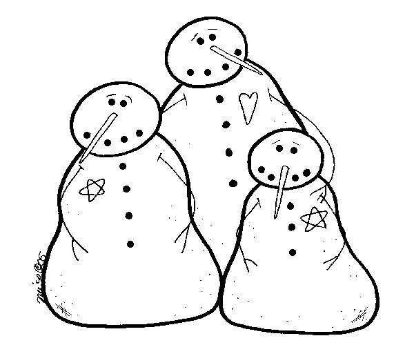 Mr Snowman On Christmas Touching A Snowflake Coloring Page: 25+ Unique Snowman Patterns Ideas On Pinterest