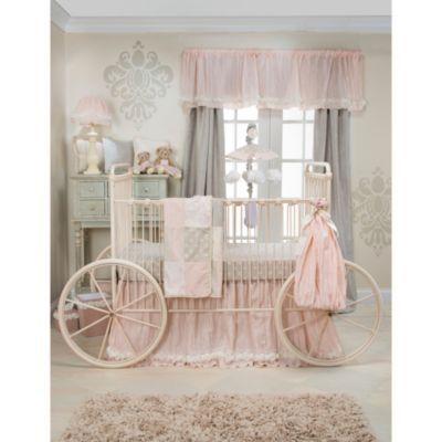 Glenna Jean Contessa Crib Bedding Collection - BedBathandBeyond.com like colors and shabby chic style