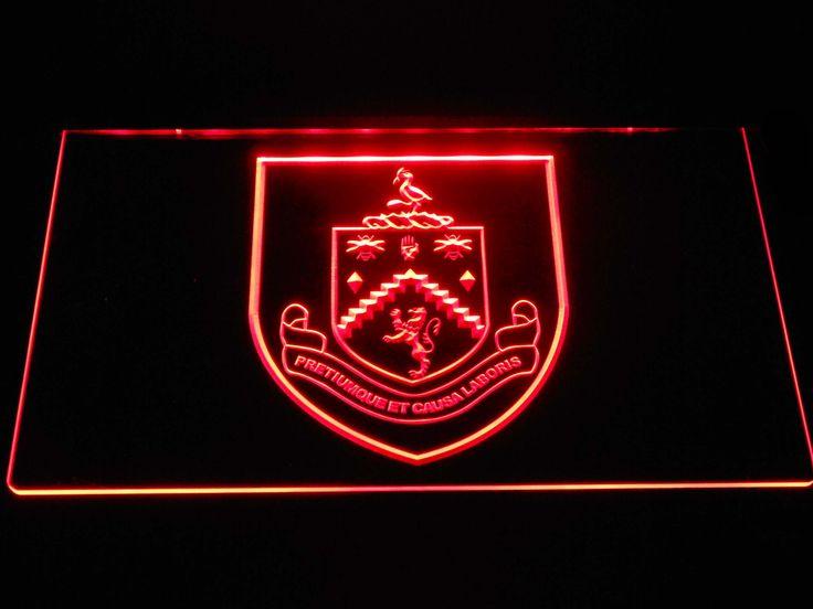 Burnley F.C. LED Neon Sign