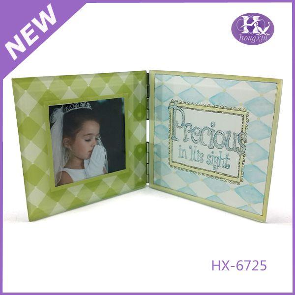 HX-6725 Black glass memories amazon picture frames