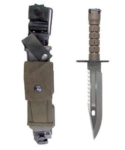 Ultimate Arms Gear Tactical Limited Edition Special Forces Series Stainless Steel M9 M-9 Military Sawback Survival Blade Bayonet Knife With Tactical Sheath Scabbard by Ultimate Arms Gear, http://www.amazon.com/dp/B005WL7IGG/ref=cm_sw_r_pi_dp_c6Phrb08RH9G3