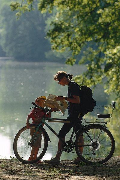 Lazy summer days at the lake