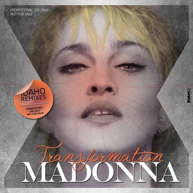 Madonna - transformation Idaho Remixes