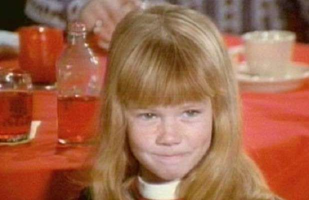 """Actress Suzanne Crough, best known for her role on """"The Partridge Family"""",  Mar 6, 1963 - Apr 27, 2015"""
