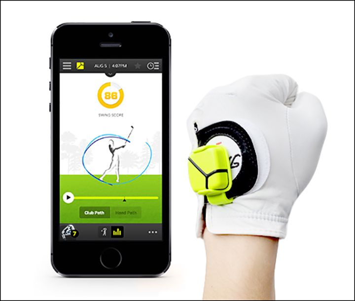 Help dad work on his golf swing this Father's Day with these fun and funky gift ideas (image courtesy of Zepp Golf)