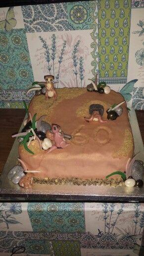 Lol meerkat cake :)