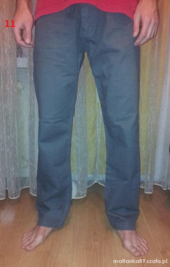 Szare męskie spodnie dżinsy   Cena: 18,00 zł  #dzinsy #szarespodnie