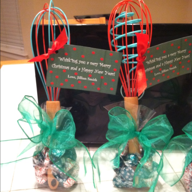 """Teacher Gifts for Christmas: """"Whisk""""ing you a Merry ..."""