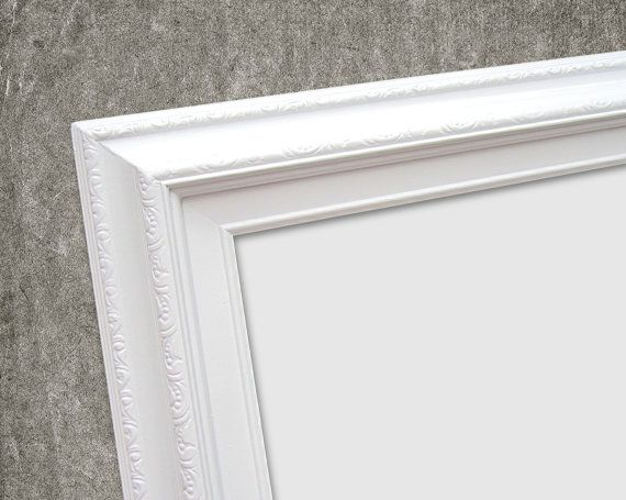 FRAMED WHITEBOARDS For SALE White Framed by RevivedVintage on Etsy
