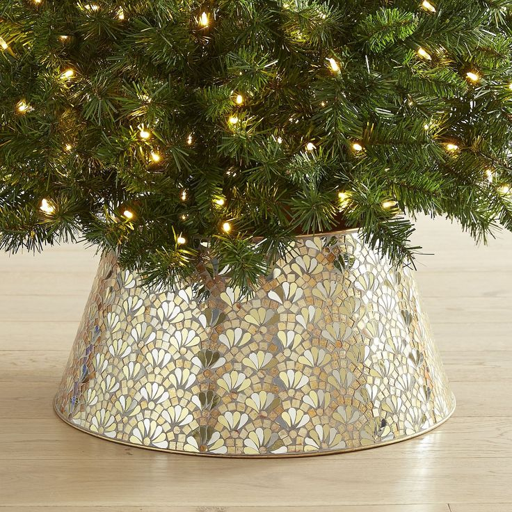 Tree Collars Are The Christmas Decor You Didn T Know You