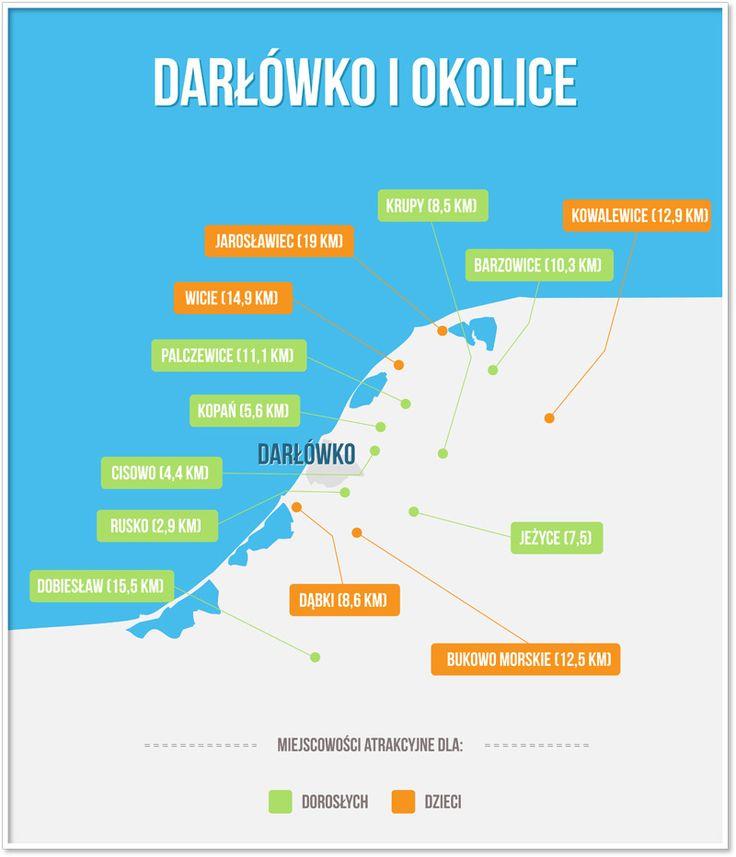 Jeśli wypoczywacie w jednym z naszych apartamentów w Darłówku, z całą pewnością widzieliście już najbardziej znane atrakcje, o których piszemy na naszej stronie. Co jednak w przypadku, gdy trochę znudziliście się morzem i zatęskniliście za krótką objazdową wycieczką po okolicach? Specjalnie dla was odwiedziliśmy pobliskie miejscowości, by znaleźć w nich to, co może być ciekawym oderwaniem od plaży, słońca i morza. Zapraszamy na podróż po okolicach Darłówka.  #apartamenty #Darlowo