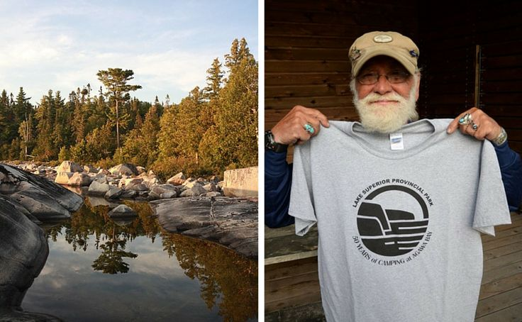 """""""I always listen"""": Camper celebrates 50 consecutive years at Lake Superior Provincial Park"""