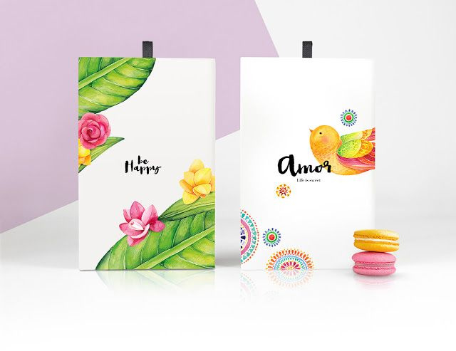 Beautiful Life Is Sweet Macarons Concept on Packaging of the World Creative Package Design