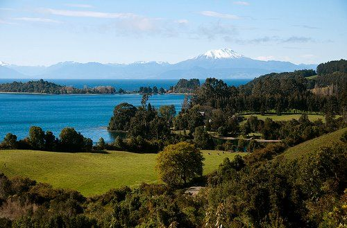 Lago Llanquihue, Sur de Chile