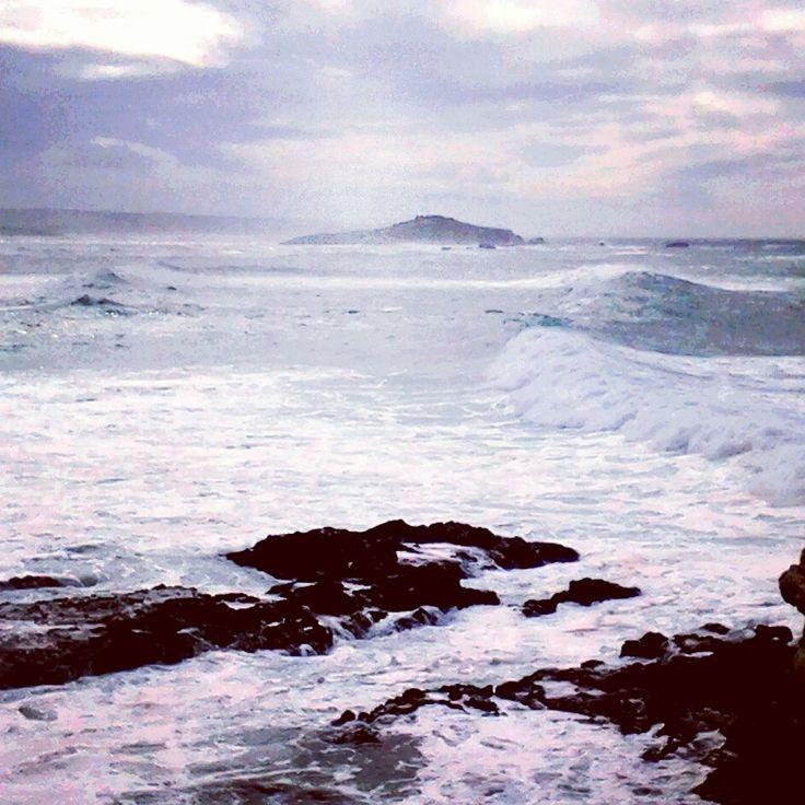 Ilha do Pessegueiro em dia de tempestade Porto Covo - Portugal