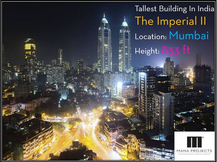 The Imperial is #tallest #Building in the #India located in Mumbai.- @Mana Projects