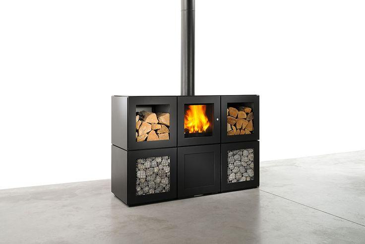 #poêlesabois #stove #design poêle à bois de la speeta