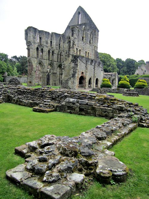 Wenlock Priory Ruins, Much Wenlock, Shropshire, UK