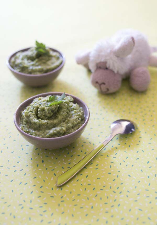 Purée de brocolis au persil – à partir de 6 mois | Biodélices