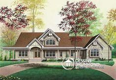 Plan de maison no. W2696 de dessinsdrummond.com