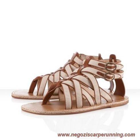 Christian Louboutin Nuria Uomo Natural Donna scarpe da calcio online