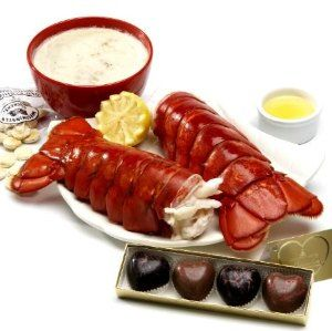 Sweetheart Cove - Romantic three-course lobster dinner 16-20 oz. colossal lobster tails! Delivered overnight. [Lobster Recipes, Lobster, Fresh Seafood, Lobster Tail] https://lobsteranywhere.com/ Live Maine lobster delivery direct from LobsterAnywhere. New England's mail order premium seafood company online since 1999 with ocean fresh and frozen lobster on sale for your business or special event. Guaranteed overnight shipping anywhere in USA. Orders are guaranteed. #Lobster #Recipe #Seafood