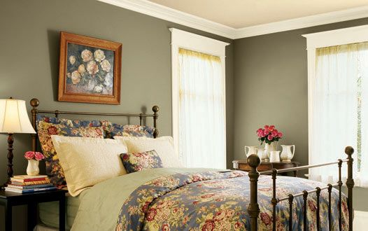 Pinterest the world s catalog of ideas for Master bedroom paint color ideas with dark furniture