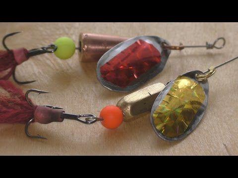 Сборка, тюнинг и тест блесны вертушки - YouTube