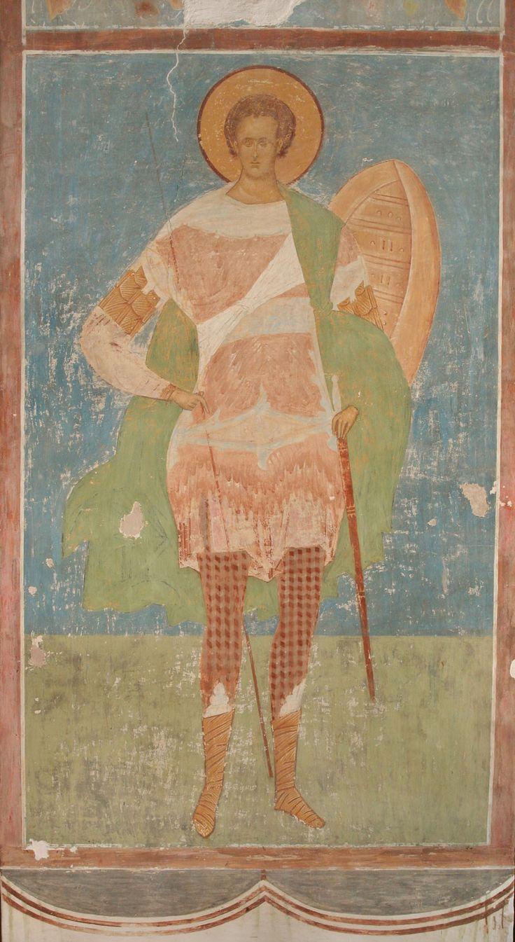 Великомученник Димитрий Солунский Разрез по центральному продольному нефу. Вид на север