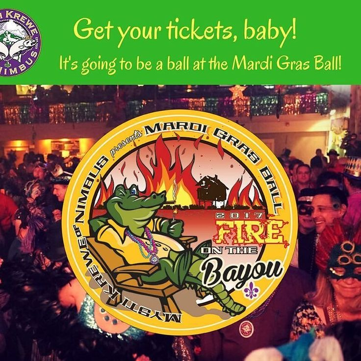 Get your tickets! We'll have a Ball! http://ift.tt/2gCfQNM  #mardigras #gator #fireonthebayou #cajun #zydeco #dance #costumes #party #portland #portlandoregon #mkon #downtownportland #neworleans #swampthing