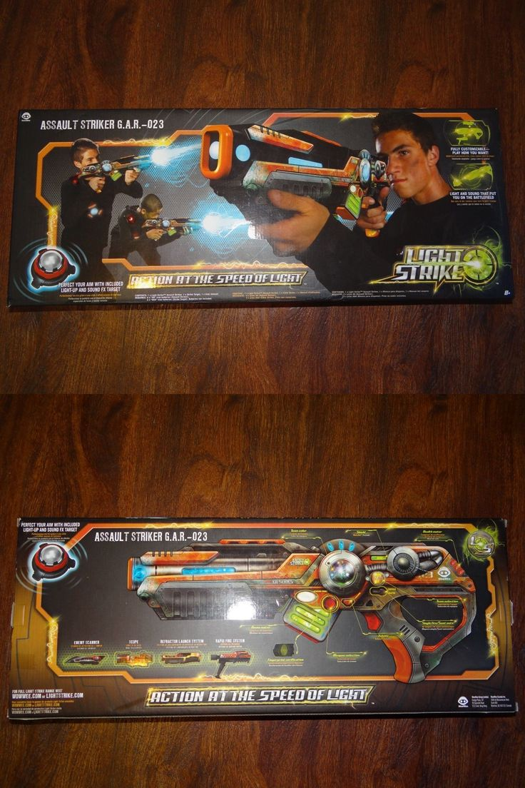 Laser Tag 168245: New Orange Wowwee Light Strike Assault Striker G.A.R 023 -> BUY IT NOW ONLY: $125.99 on eBay!