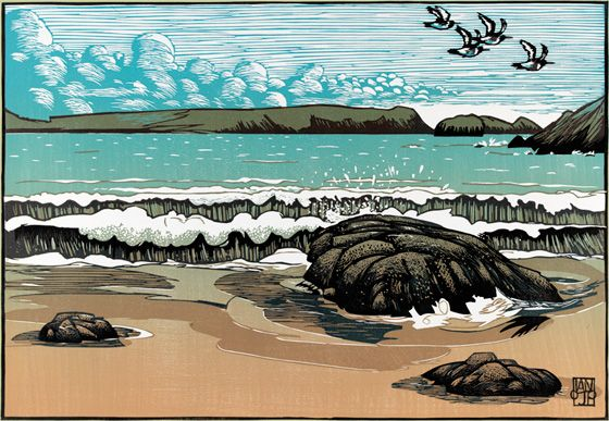 oyster_catchers Artist Ian Phillips