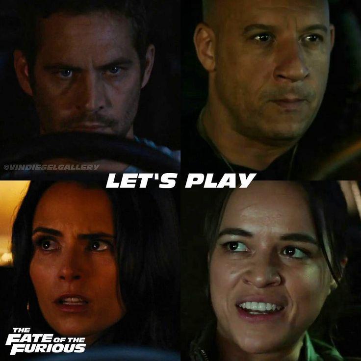 """Vin Diesel Stills @vindieselgallery - """"Let's play"""" Wh...Yooying"""