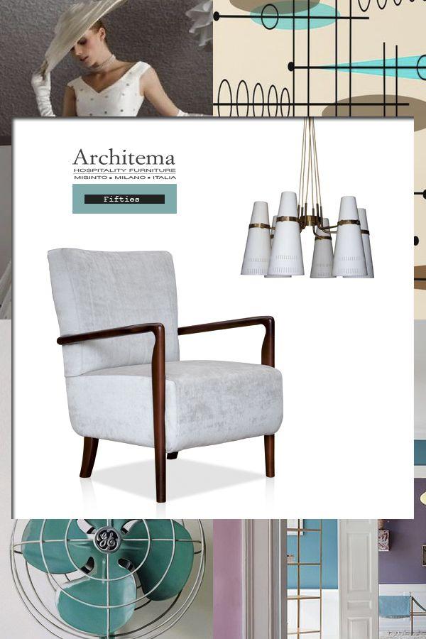 ARCHITEMA - LUKE armchair in light beige velvet