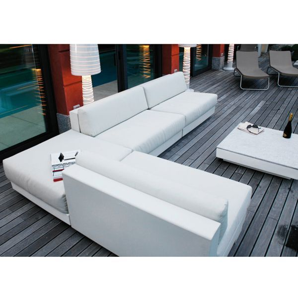 Serralunga One Modern Outdoor Sofa, Sectional Sofa  HomeInfatuation.com · Modern  Outdoor SofasOutdoor LoungeLounge ...