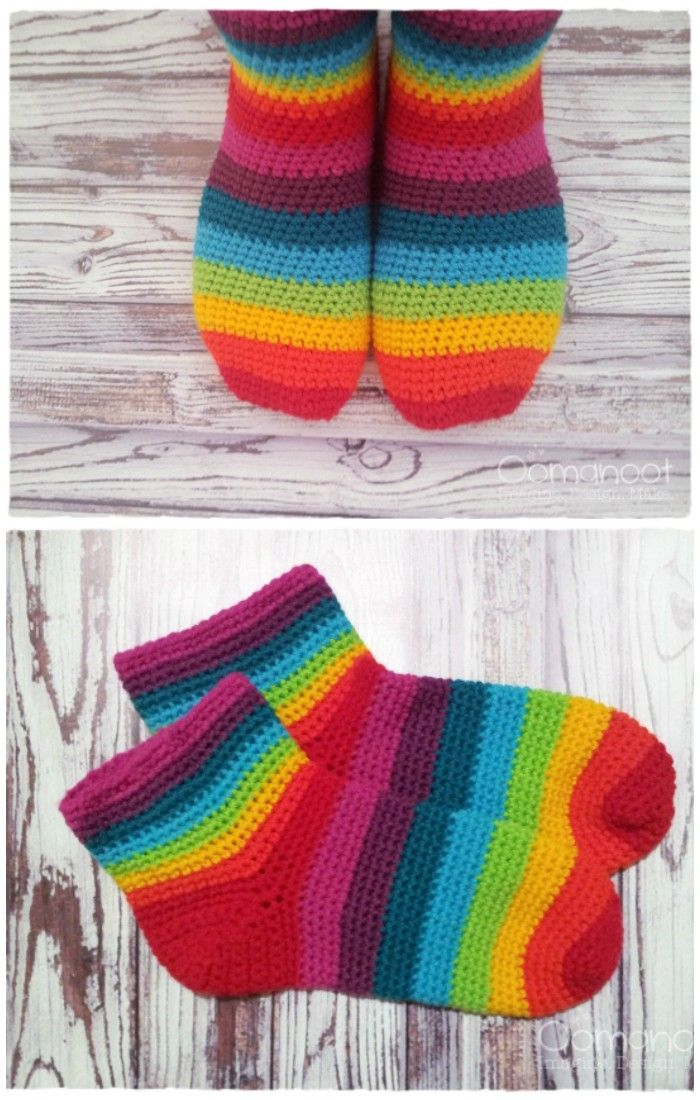 I Want To Show You Some Beautiful And Outstanding Crochet Socks Free